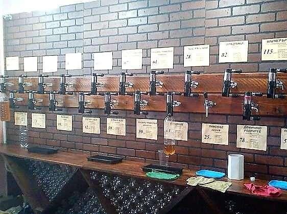 Фальш стенка для разливного пива своими руками 14